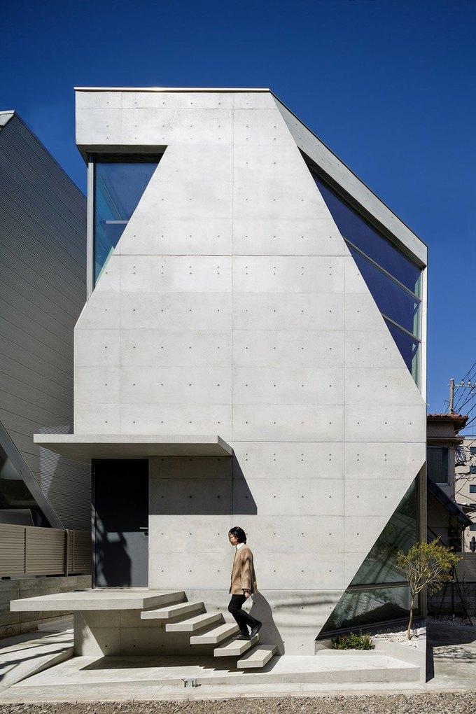 Архитектура дня: дом для химиков из экологичного бетона . Изображение № 4.