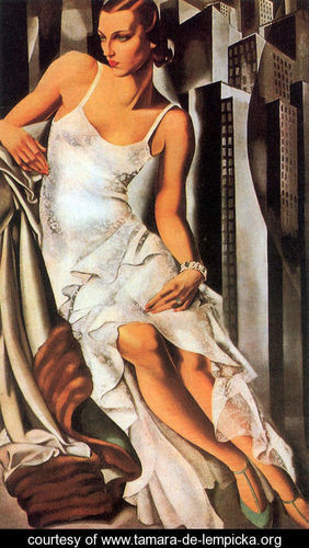 Тамара де Лемпицка – художница и икона Арт Деко. Изображение №9.