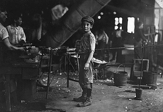 Эксплуатации детского труда в Америке (1910 год).И эмигранты США. Изображение № 36.