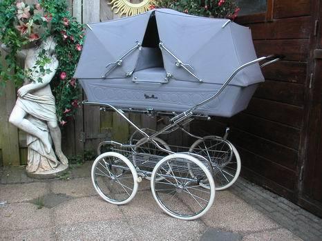 Ретро – kinderwagen, stroller илидетская коляска. Изображение №7.