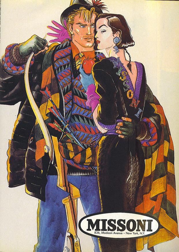 Antonio Lopez - легендарный fashion-иллюстратор. Изображение № 21.