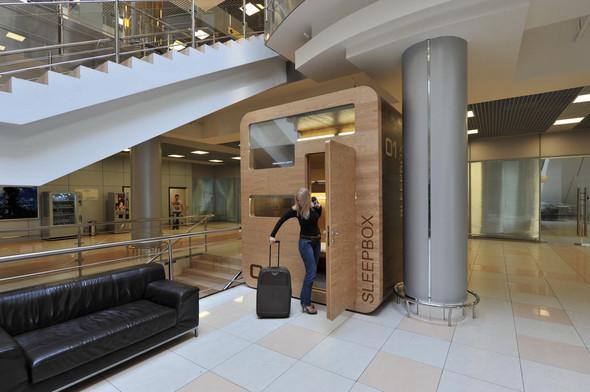 В аэропорту Шереметьево установлен капсульный отель. Изображение № 6.
