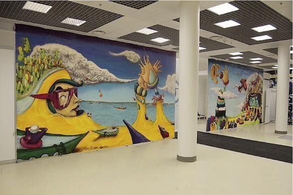 Стас Каневский: граффити во плоти. Изображение № 13.