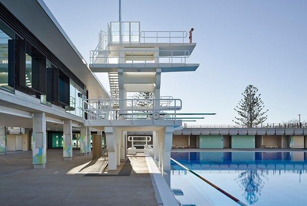 Фотограф: Christopher Frederick Jones / Здание: Gold Coast Aquatic Centre (Квинсленд, Австралия) / Бюро:  Cox Rayner Architects / Категория: «Экстерьер». Изображение № 7.