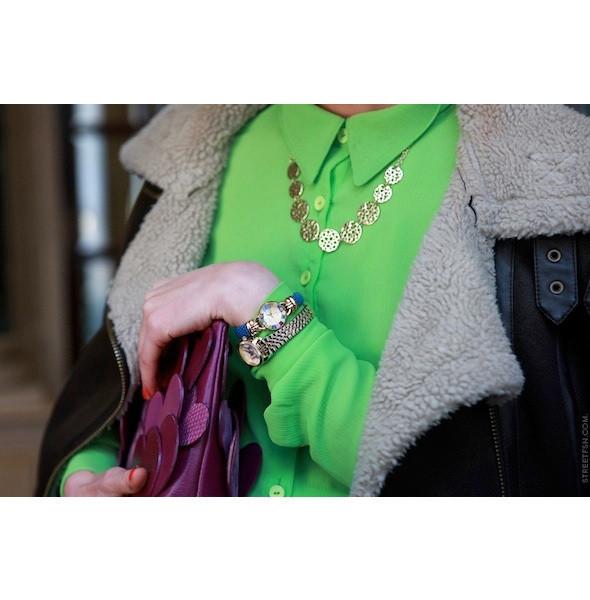 Изображение 135. На полях: 10 тенденций уличного стиля с прошедших недель моды.. Изображение № 135.