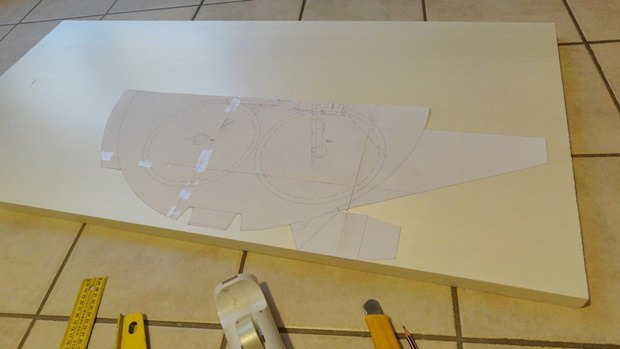 Энтузиаст построил дрон в виде «Тысячелетнего сокола». Изображение № 2.