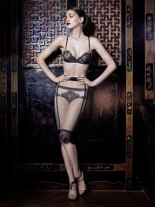 Лукбук осенне-зимней кампании бренда нижнего белья La Perla. Изображение № 4.