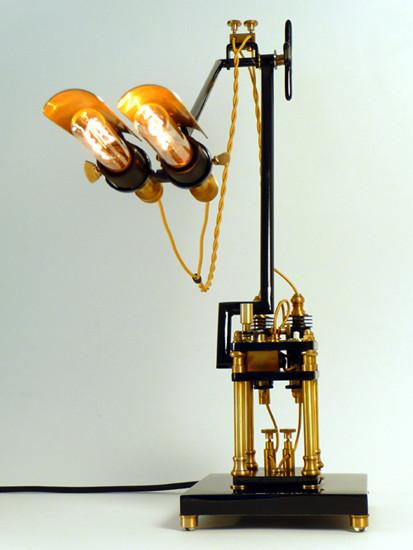 Стимпанк лампы отФранка Бухвальда. Изображение № 1.