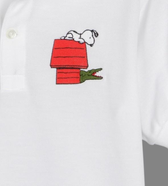 Поло Lacoste к 60-ому дню рождения комикса The Peanuts. Изображение № 3.