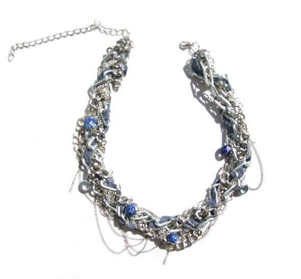 Ожерелья из цепей гаек и сантехнического шнура. Часть1. Изображение № 23.