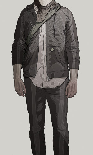Чернильно-кофейные призраки Мэтью Вудсона. Изображение № 2.