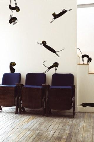 Кошки в интерьере. Изображение № 59.
