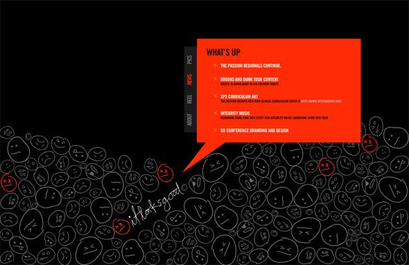Ручная работа. Дизайн сайтов с рисованными элементами. Изображение № 21.