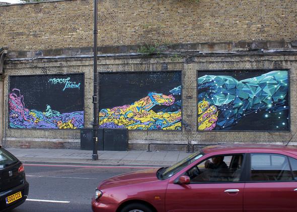Стрит-арт в Лондоне. Изображение № 21.