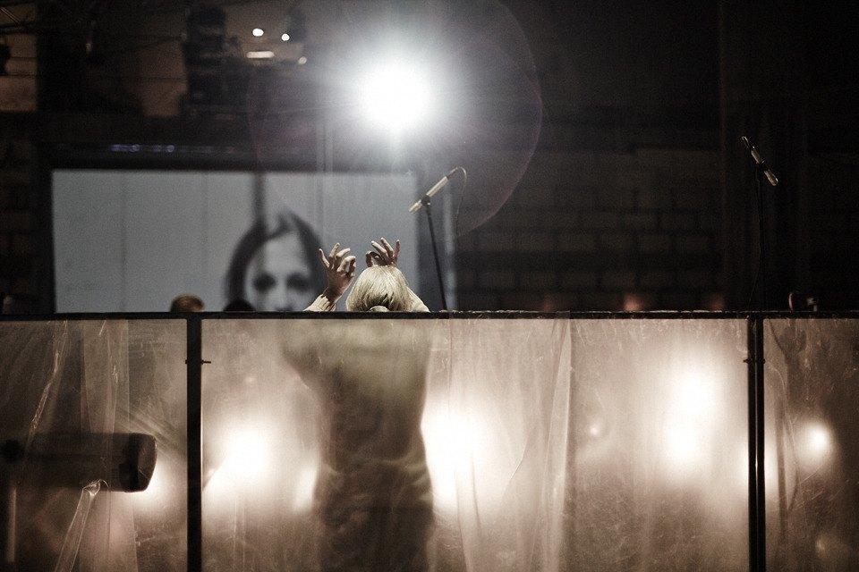 «Три четыре»: Фоторепортаж с репетиции оперы в подвале Москва-Сити. Изображение № 16.