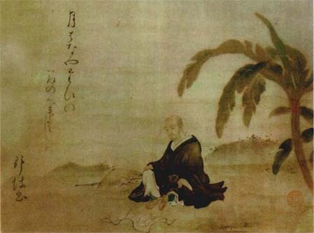 Обитель банановых листьев Мацуо Басё. Изображение № 1.