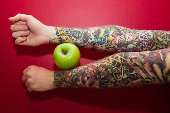 Самые аппетитные татуировки в Москве. Изображение № 11.