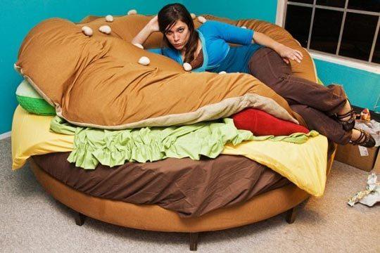 Кровать-гамбургер. Изображение № 2.