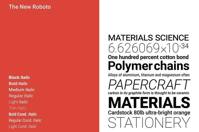 В Google представили обновлённый шрифт Roboto для всех продуктов . Изображение № 3.