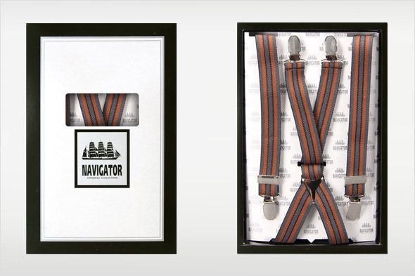 Коллекция подтяжек «Навигатор» от Sevaro Elit . Изображение № 13.