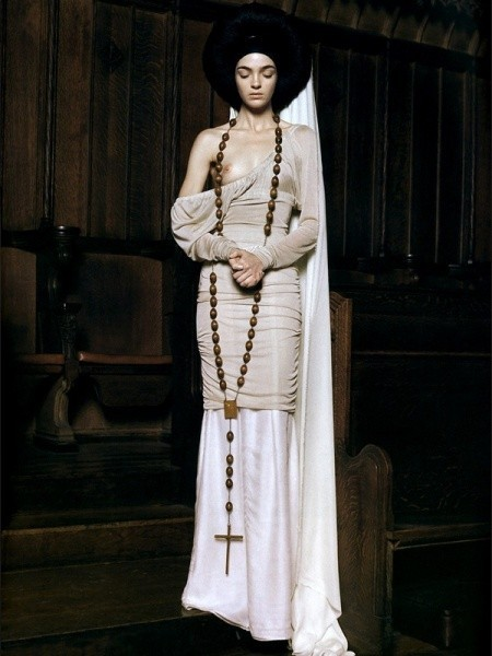 Viva Maria! Italian beauty - Mariacarla Boscono. Изображение № 35.