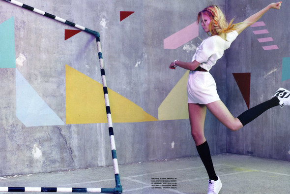 Vogue Italia March 2010 Glam and Sporty. Изображение № 11.