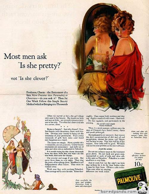 Винтажная реклама, которую запретили бы сегодня. Изображение № 15.