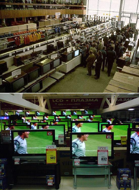 Как изменились прилавки магазинов за 20 лет. Изображение № 3.