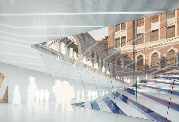 Музей Виктории и Альберта: новый архитектурный проект. Изображение № 1.
