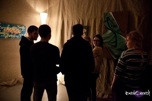 Изображение 9. Открытие персональной выставки Димы Snils'a.. Изображение № 9.