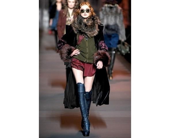 Показ Dior FW 2011. Изображение № 12.