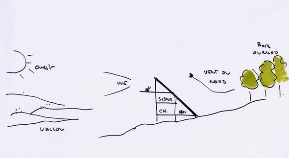 Maison triangle. Изображение № 1.
