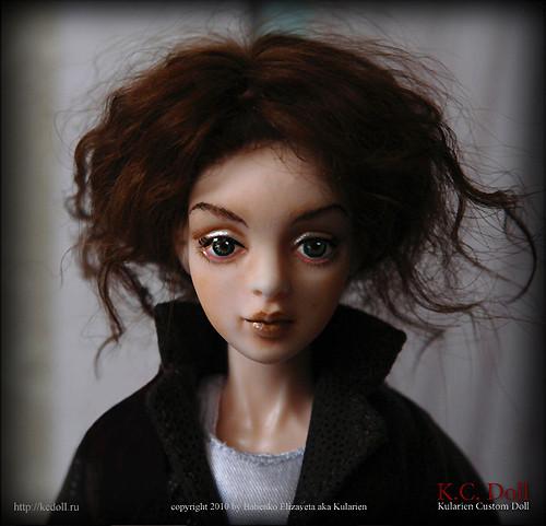 K.C.Doll. Миниатюра на шарнирах. Изображение № 5.