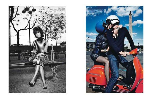 Стоп-кадр: Съемки Love, Vogue, Russh и Numero. Изображение № 4.