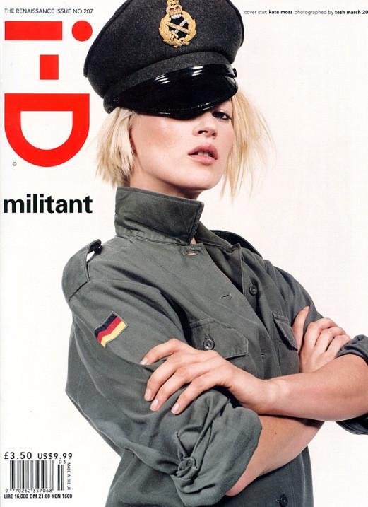 Кейт Мосс, наобложках главных модных журналов планеты. Изображение № 19.