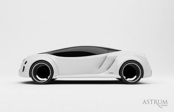 Astrum Meera - проект очень красивого автомобиля со многочисленными нововведениями. Изображение № 2.