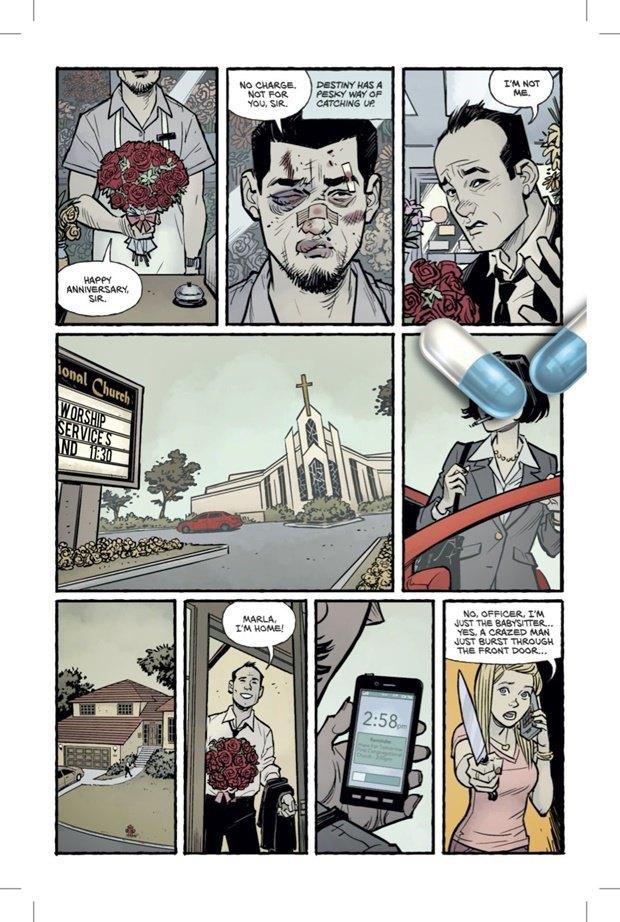Выложены 6 страниц комикса-сиквела «Бойцовского клуба». Изображение № 3.