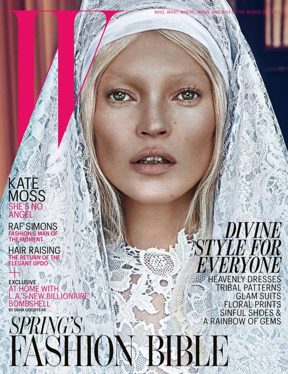 Kate Moss (КЕЙТ МОСС) для W Magazine. Изображение № 1.