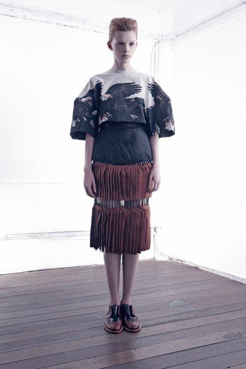 Лук из коллекции победителя прошлого Mango Fashion Awards — Wisharawish. Изображение № 1.