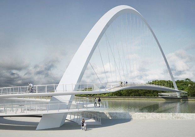 Выложены 74 проекта нового моста через Темзу. Изображение № 40.