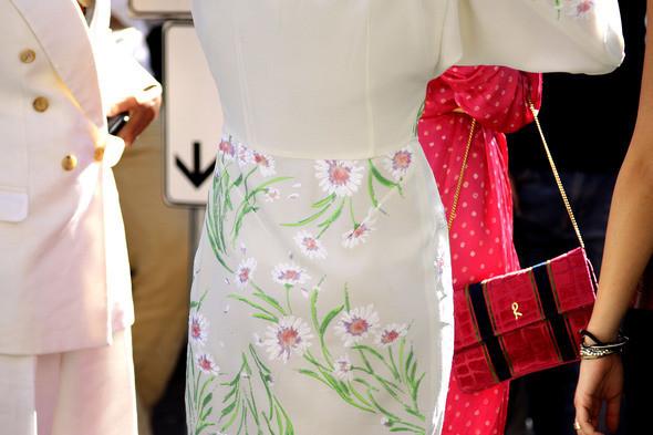 Изображение 19. Девушки на Milan Fashion Week: день 2.. Изображение № 19.