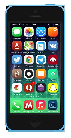 7 удобных способов  организовать иконки  на смартфоне. Изображение № 6.