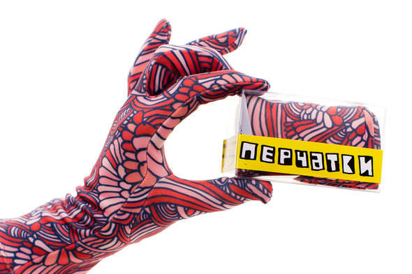 Цветные перчатки молодой марки Ena. Изображение № 1.