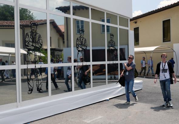 Изображение 21. Pitti Uomo, часть 2: 10 необычных стендов.. Изображение № 14.