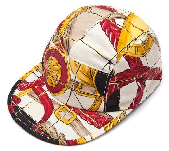 Géométrick создали кепки из платков Celine и Hermes. Изображение № 1.