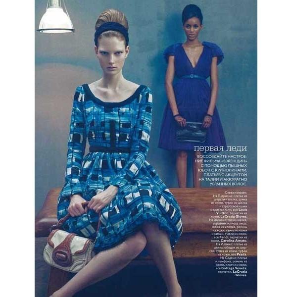 5 новых съемок: Interview, Marie Claire и Vogue. Изображение № 39.