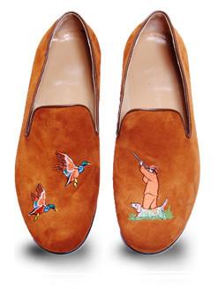 Mario Molinaro - обувь с вышивкой. Изображение № 3.