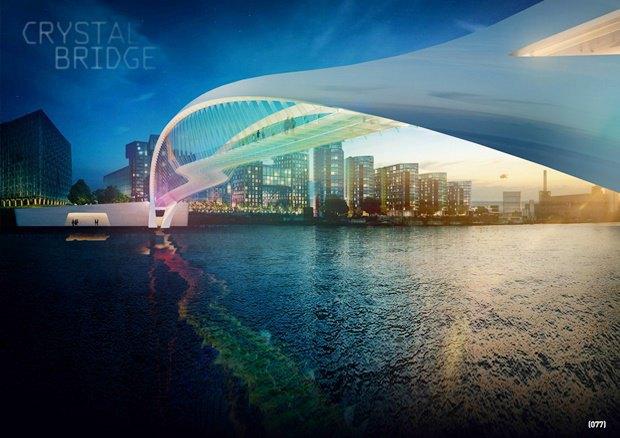 Выложены 74 проекта нового моста через Темзу. Изображение № 6.