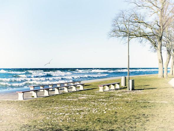 Вид на Балтийское море от городских стен Висбю. Изображение № 23.
