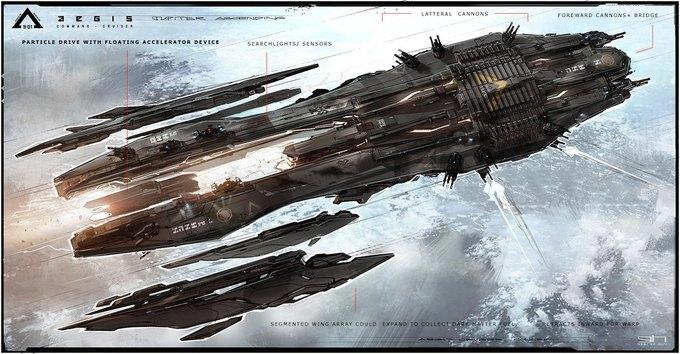 Художник «Восхождения Юпитер» выложил концепты к фильму. Изображение № 8.